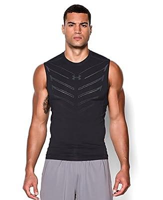 Under Armour Men's UA HeatGear® Armour Exo Sleeveless Compression Shirt
