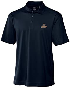 MLB Houston Astros Mens Drytec Genre Polo Knit Short Sleeve Top by Cutter & Buck
