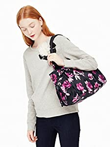 Kate Spade York Classic Nylon Stevie Baby Diaper Bag, Black Multi from Kate Spade New York
