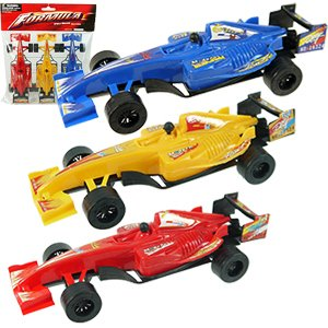Pull Back Formula Race Cars - 3 Piece Sets