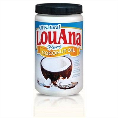 100% Pure & Natural Coconut Oil - Quart by LouAna
