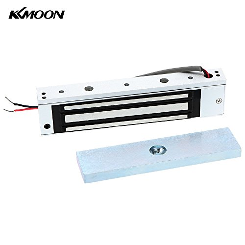 KKmoon Magnetica Elettromagnetica Porta Singola 12V Serratura 180KG (350 LB) Forza di Tenuta per il Controllo di Accesso