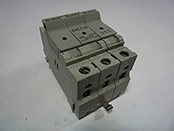 buss chcc3i fuse holder 30 amp 600v industrial scientific