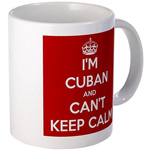 Cafepress I'M Cuban And I Can'T Keep Calm Mug - S White