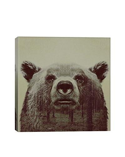 Andreas Lie Bear Canvas Print