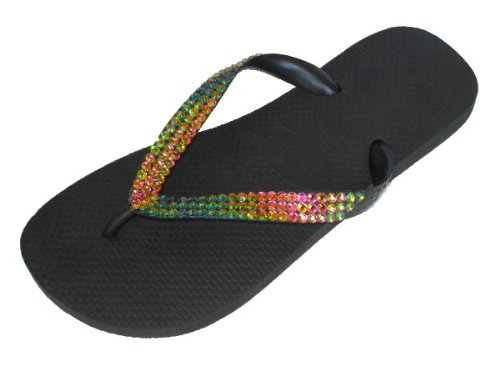 Cheap IRIDIS Swarovski Crystal Havaianas Flip Flops Sandals Thongs sizes 5-11 (B002H0BLX6)