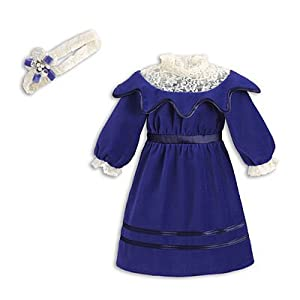 """Samantha's Velvet Dress"" for 18"" American Girl doll"