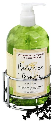 Stonewall Kitchen Herbes De Provence Hand Soap, 16.9-Ounce Bottles (Pack of 2)
