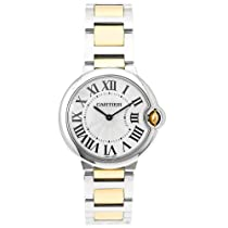 Luxury Watches Sale - Cartier Midsize Ballon Bleu Stainless Steel and 18K Gold Watch #W69008Z3