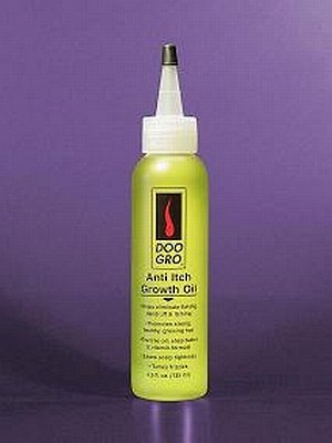 DOO GRO Anti Itch Growth Oil Helps Eliminate Flaking, Dandruff & Itching 4.5oz/135ml