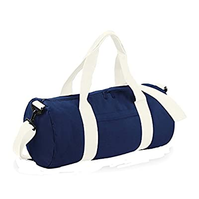 Bagbase Plain Varsity Barrel / Duffle Bag (20 Litres) by Bagbase