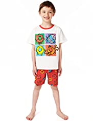 Pure Cotton Mr. Men™ Short Pyjamas