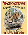 Win - Drumming Grouse Tin Sign 12.5