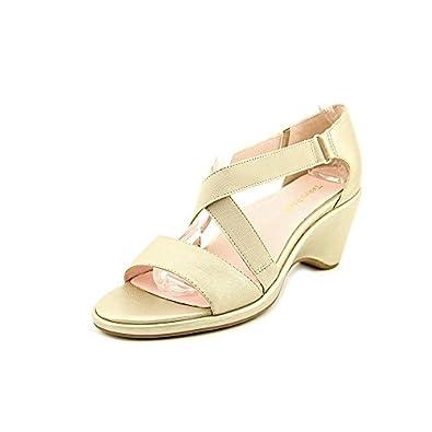 Amazon.com: Taryn Rose Women's Maura Soft Gold Metallic 11 M US: Shoes