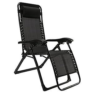 FLAMROSE 【無重力チェア】 リクライニングチェア キャンプ椅子