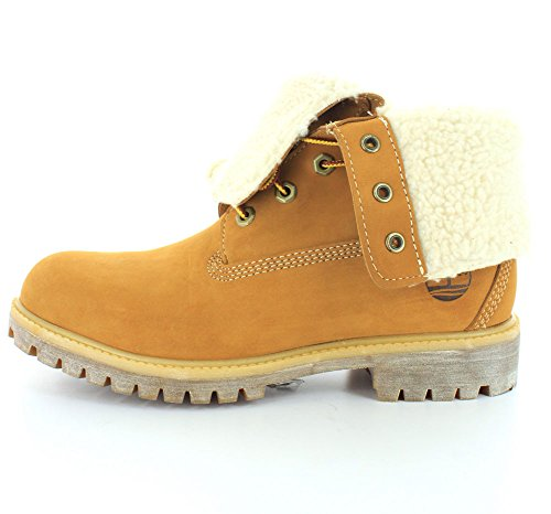 384ee9cec6d43 pictures of Timberland Men's 6 Inch Premium Fold-Down Lined Winter Boot, Wheat  Nubuck