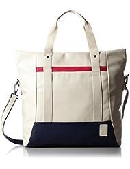 Puma Women's Handbag (Oatmeal, Peacoat And Rose Red)