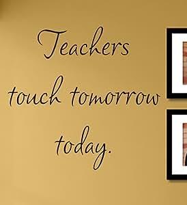 Amazon.com : Los profesores tocan mañana hoy. Vinilo Tatuajes de