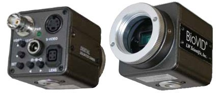Biovid Video Camera - 720X470, C-Mount With Rca Cable