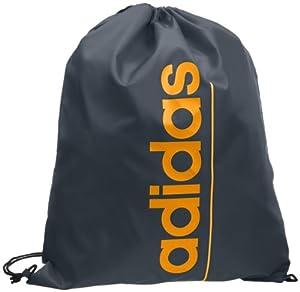 Adidas Linear ESS GB - Mochila, color negro / naranja, talla única