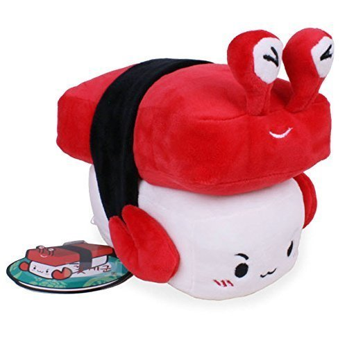 "Nwt Crab 6"" Sushi Plush Pillow Cushion Doll Japan Toy Gift Bedding Room Home Decor Korean Fancy by Cupid Gift Shop - 1"