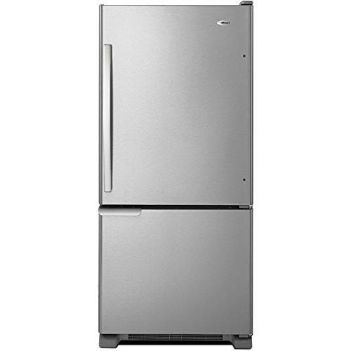 amana-abb1921brm-abb1921brm-18-cuft-stainless-29-width-bottom-freezer-refrigerator