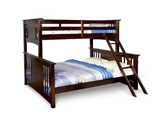 Where to buy furniture of america steven bunk bed twin for Furniture of america bed reviews