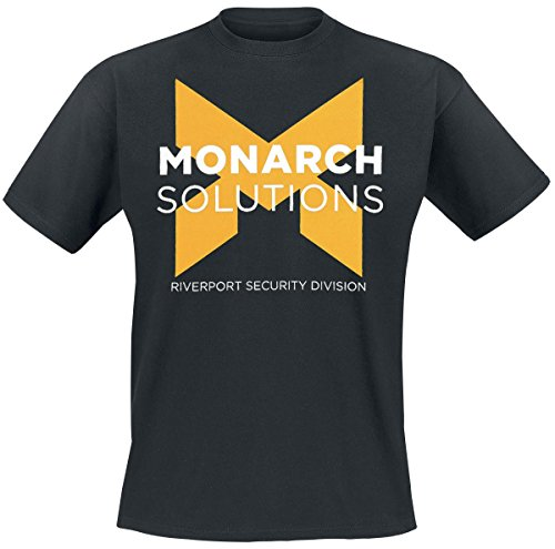 Quantum Break Monarch Solutions-Maglietta, colore: nero Nero nero x-large