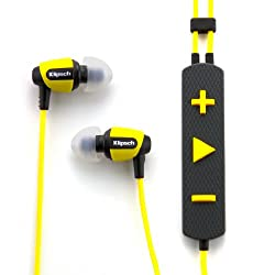 Klipsch Image S4i Rugged In-Ear Headphone with Mic (Yellow)