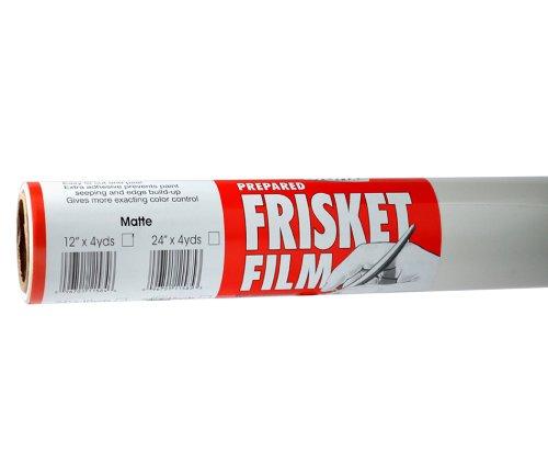 Grafix Extra Tack Frisket Film Roll 12-Inch-by-4-Yards, Matte