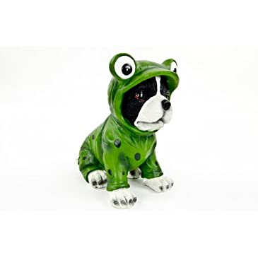 Frog Dog Statue