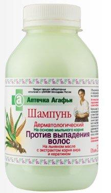Shampoo Dermatological Against Loss Hair  Flax