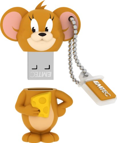 EMTEC Tom and Jerry 8 GB USB 2.0 Flash Drive, Jerry