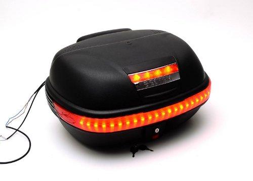 Bestem Tbox-929-Led Flat Black T-Box Trunk With Extra Led Light Strip