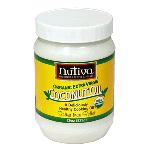 Nutiva Organic Coconut Oil, 29-Ounce Jars (Pack of 2)