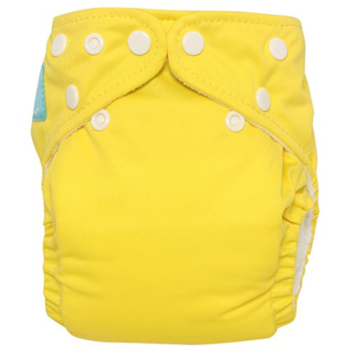 Charlie Banana 2-In-1 Reusable Diapers, Yellow front-646952