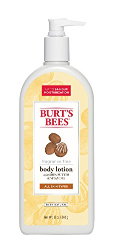 burts-bees-fragrance-free-shea-butter-and-vitamin-e-body-lotion-12-ounces