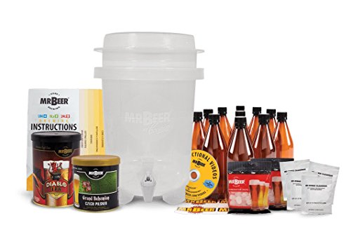 Mr. Beer Deluxe Craft BrewMax 2G Homebrewing Beer Making Kit (Mr Beer Refill Ipa compare prices)