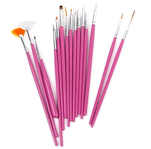 15-x-demarkt-nagel-kunst-malerei-pinsel-pen-set-rosa
