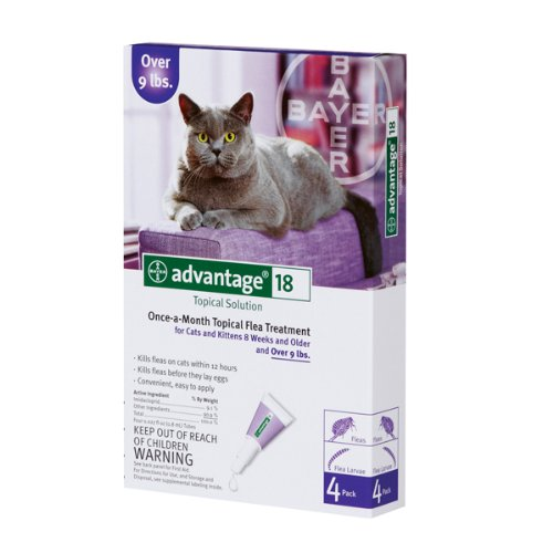 Advantage II 4-Month Cats Over 9 Lbs