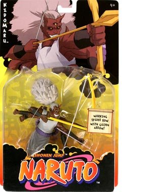 Picture of Mattel Naruto Deluxe Kidomaru Action Figure (B0013FTJ8A) (Naruto Action Figures)