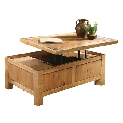 Buy Low Price Artisan Lodge Lift Top Rectangle Wood Coffee Table Lhr103cktl Coffee Table Bargain