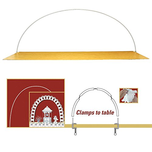 Celebration Arch (Includes: 4 - 33 Poles, 3 - Connectors, 2 - Clamps) Party Accessory (1 Count) (1/Pkg)
