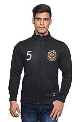 Unicott_H/N Zipper_Sweatshirt_Black_Large