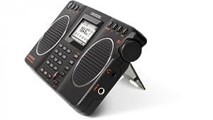 Grundig G2 AM/FM/Shortwave Radio, Recorder - Black (NG2B)