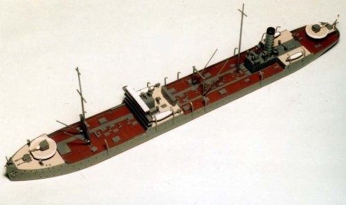 Skywave 1/700 IJN Tanker Shiretoko Class Tsurumi/Iro Model Kit
