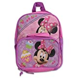 Disney Minnie Mouse 12 Backpack Detachable Lunch Bag