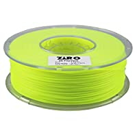 ZIRO 3D Printer Filament PLA 1.75 1KG(2.2lbs), Dimensional Accuracy +/- 0.05mm, Fluo yellow from ZIRO
