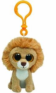 TY Beanie Boo Key Clip King Lion