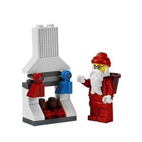 LEGOシティ・アドベントカレンダーに入っているレゴのサンタクロース